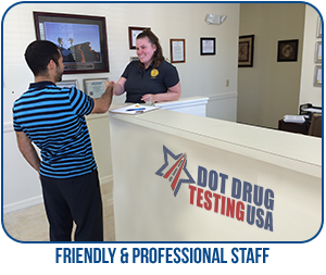 DOT Pre-Employment Testing Red Buff CA